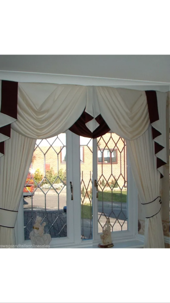 Swags And Tails With Curtains At The Cheapest Prices
